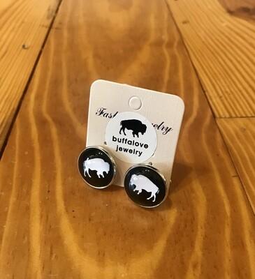 Buffalo cufflink black