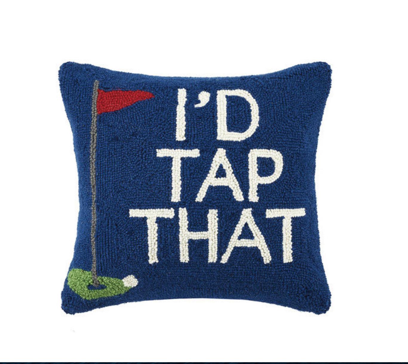 I'd tap that golf pillow