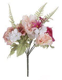 Peony mix bouquet white