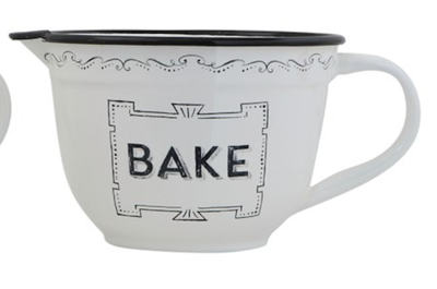 Batter bowl bake white