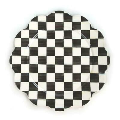 CC enamel petal platter
