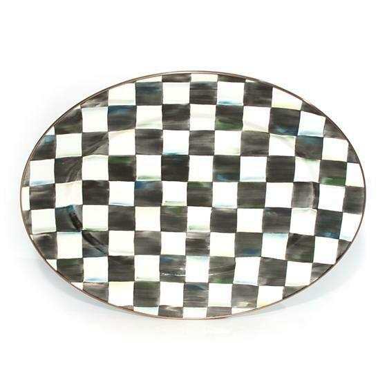 CC oval platter medium