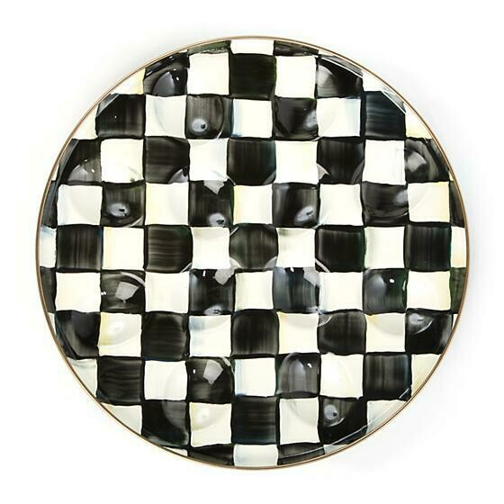 CC enamel egg plate