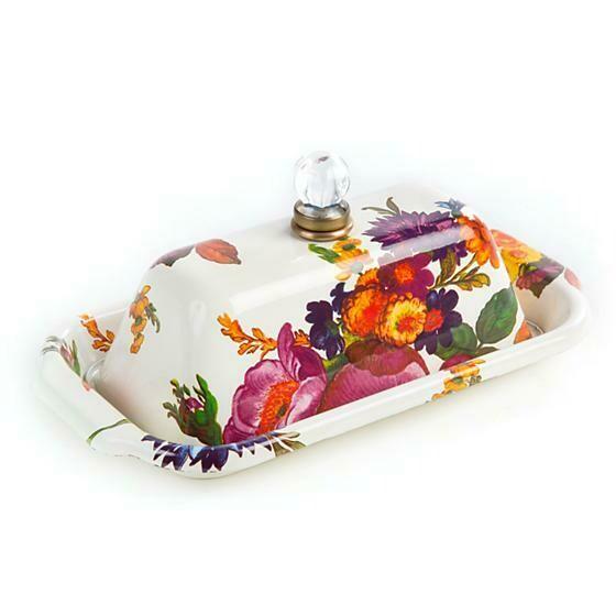 Flower market butter box white
