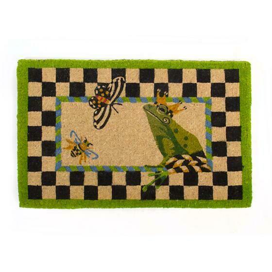 Frog entrance mat