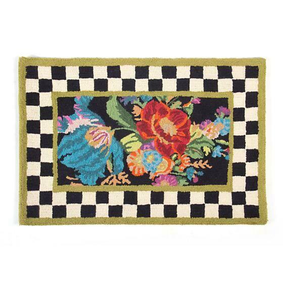 Flower market rug 2x3