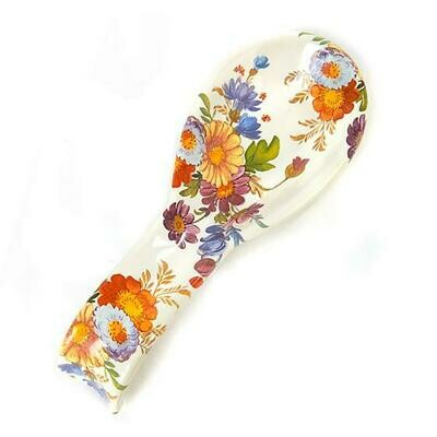 Flower market spoon rest