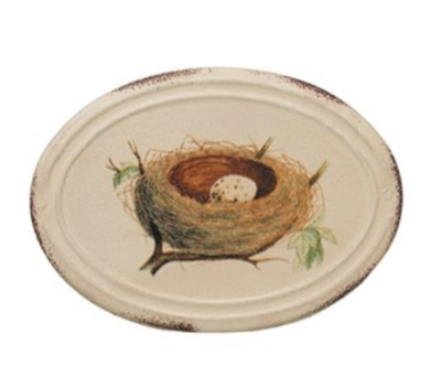 Metal box with nest