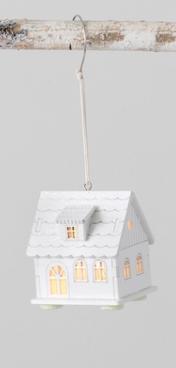 LED house orn D
