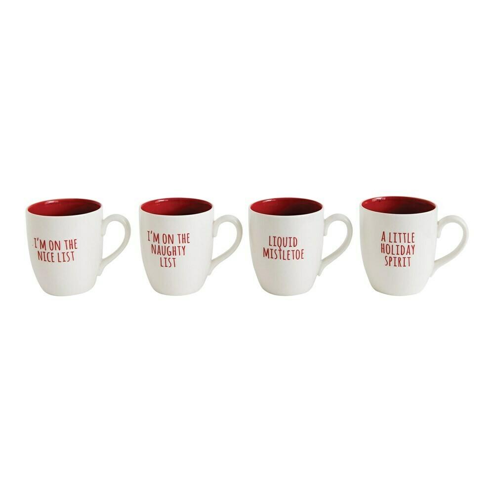 Liquid mistletoe mug