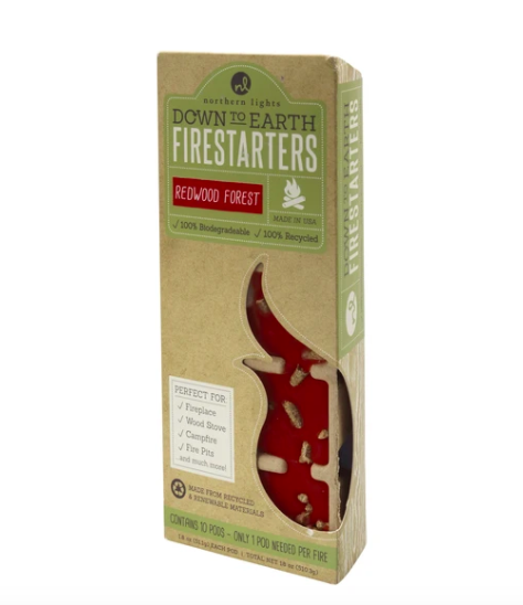 Fire starters redwood forest