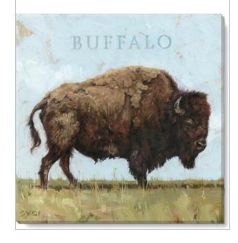Buffalo giclee wall art