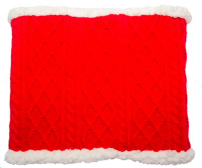 Pudus snood red