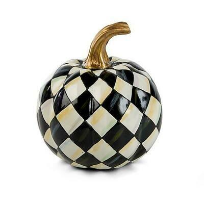 Courtly Harlequin Pumpkin - Mini