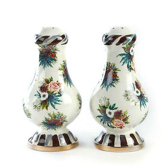 HIghbanks large salt and pepper shakers