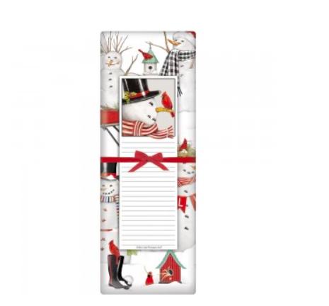 Snowman notepad set