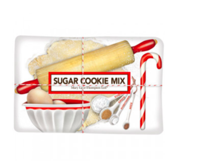 Holiday dessert baking sugar cookie mix