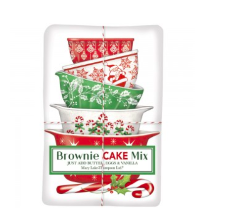 Holiday brownie mix