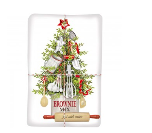 Kitchen tree brownie mix