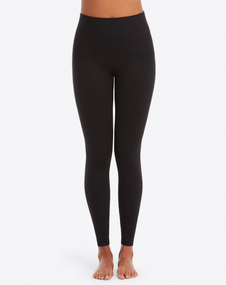 Seamless leggings large black