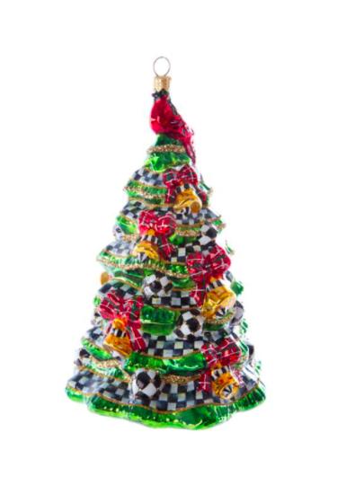 Happy holidays tree orn