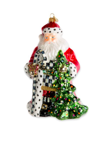 Tree farm santa orn