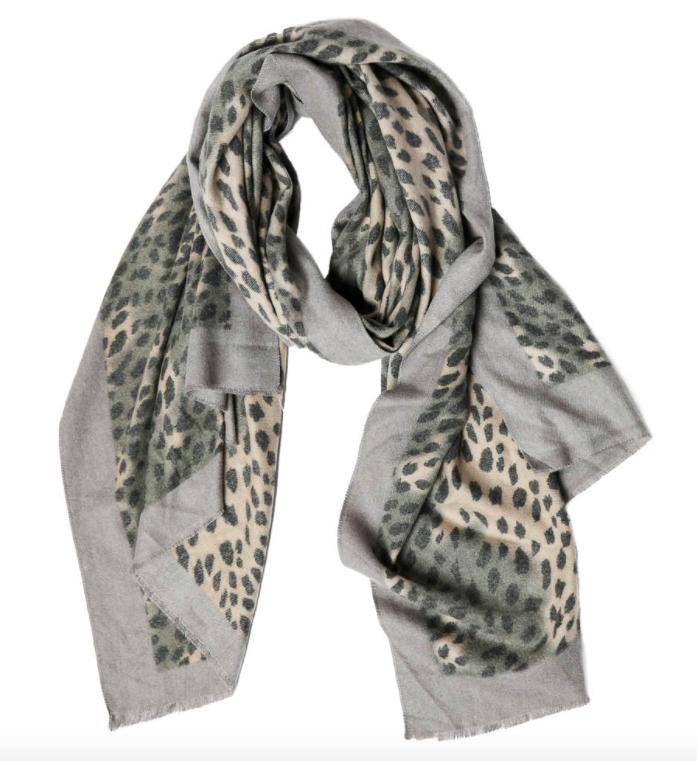 Amira scarf gray