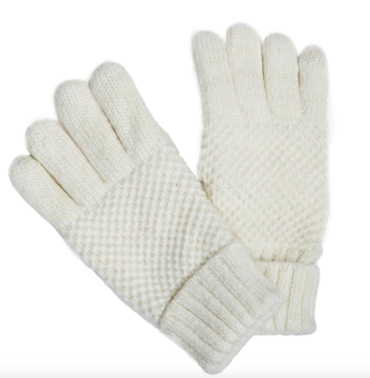 Reese glove white