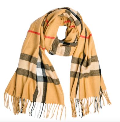 Ivy scarf camel