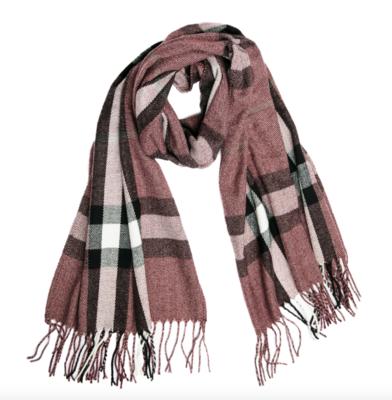 Ivy scarf mauve