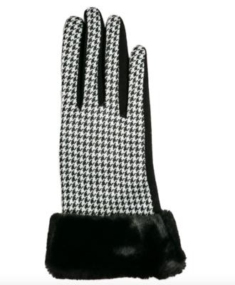 Sawyer glove houndstooth