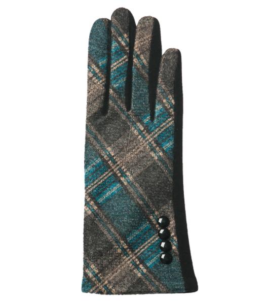 Parker gloves teal
