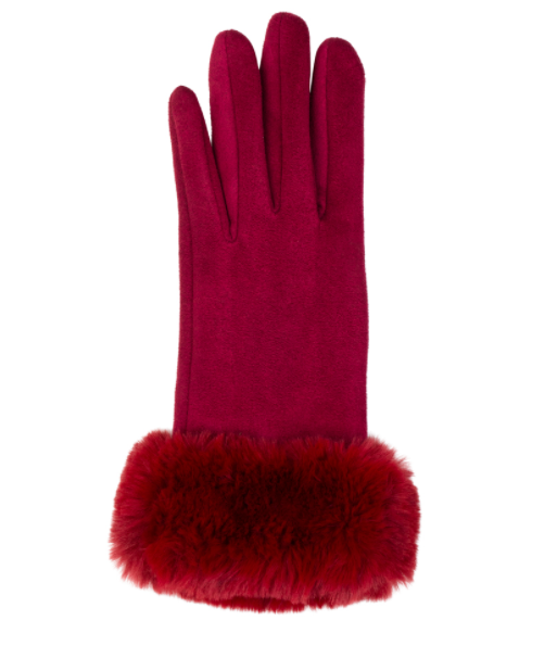 Kinsley gloves red