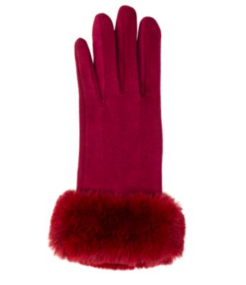 Kinsley gloves red