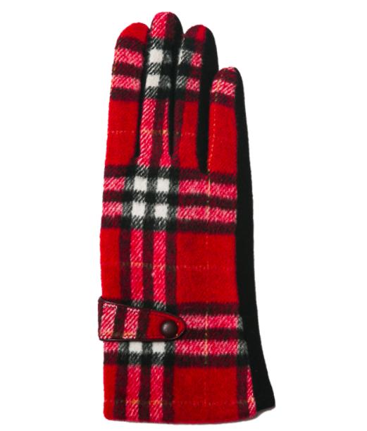 Brooklyn gloves red