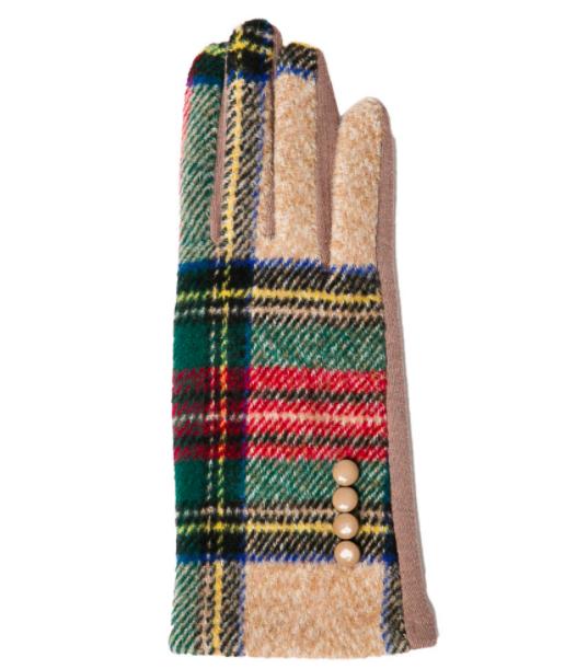 Charlie gloves camel