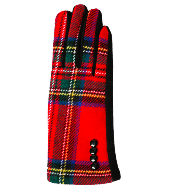 Charlie gloves red