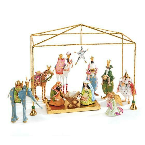 Patience Brewster Dash Away Nativity Mini Figures Introductory Set