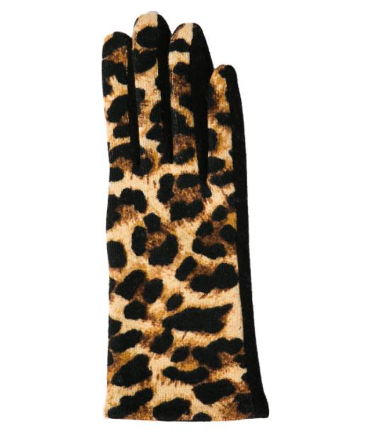 Millie glove leopard