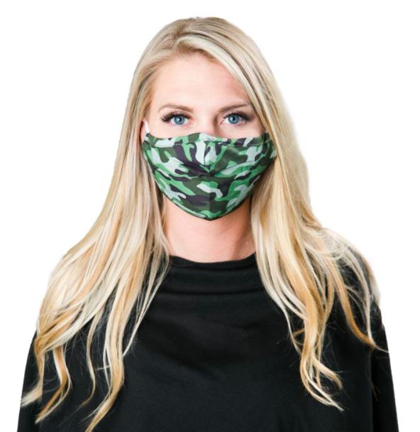 Face mask camo