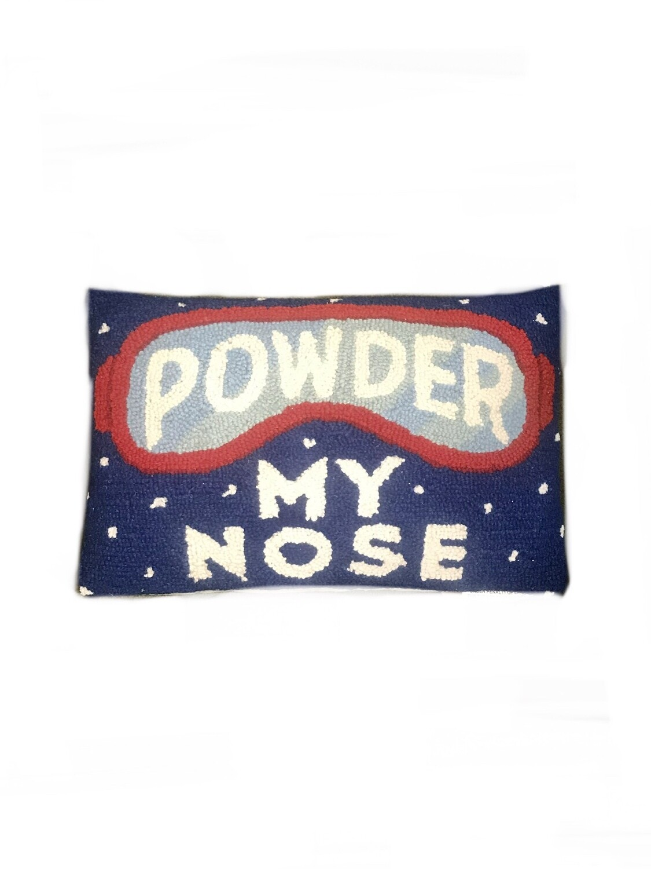 Powder my nose pillow