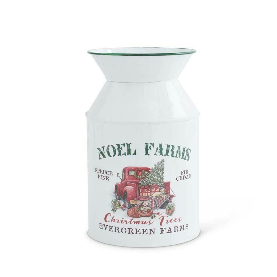 Noel farms milk bottle