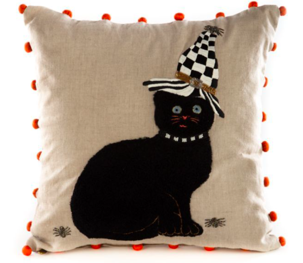 Cat in hat pillow
