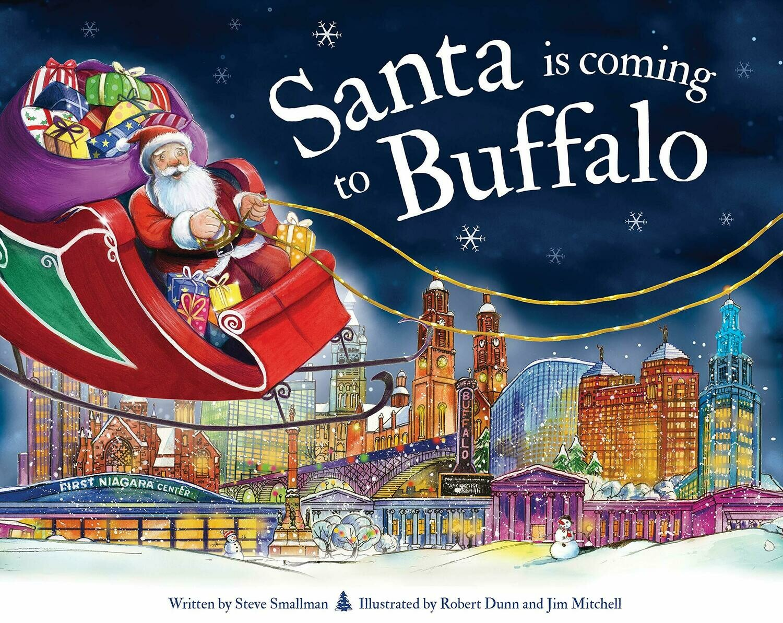 Santa is coming to Buffalo book