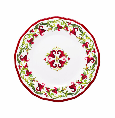 Salad plate 9 inch vischio