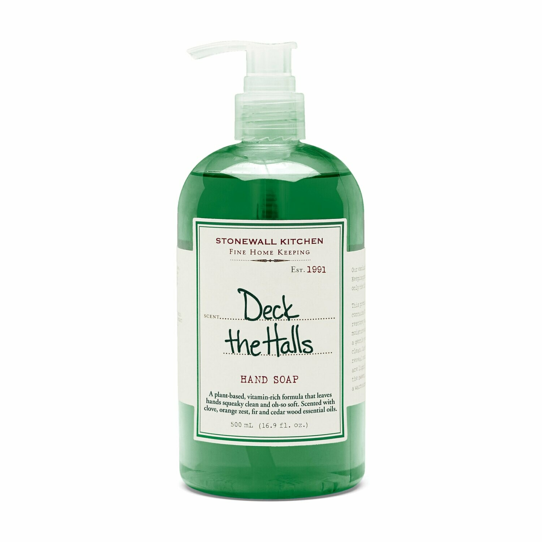 Deck the halls hand soap