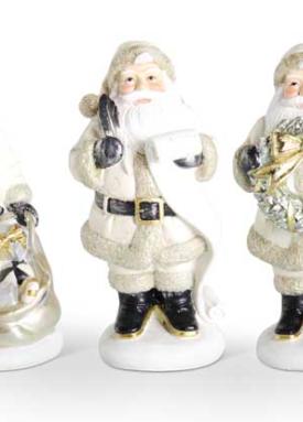 Santa with list 4 inch