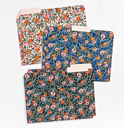 Rosa file folder set