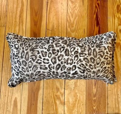 12x24 leopard pillow