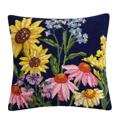 Wildflower pillow A